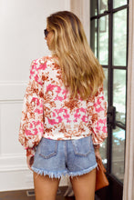 Load image into Gallery viewer, Kyliee Long Sleeve Printed Blouse