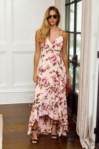 SALE -Hadley Floral Print Maxi Dress