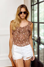 Load image into Gallery viewer, Padma Floral Sleeveless Blouse