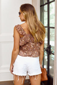 Padma Floral Sleeveless Blouse
