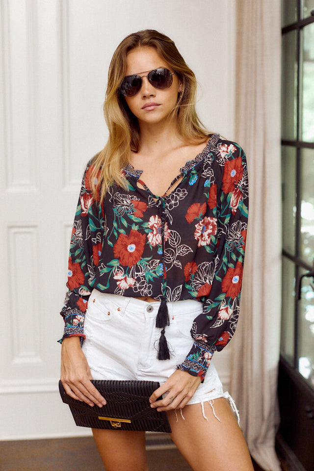 PreOrder Isla Floral Blouse