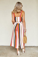 Load image into Gallery viewer, Elma Striped Paper Bag Pants