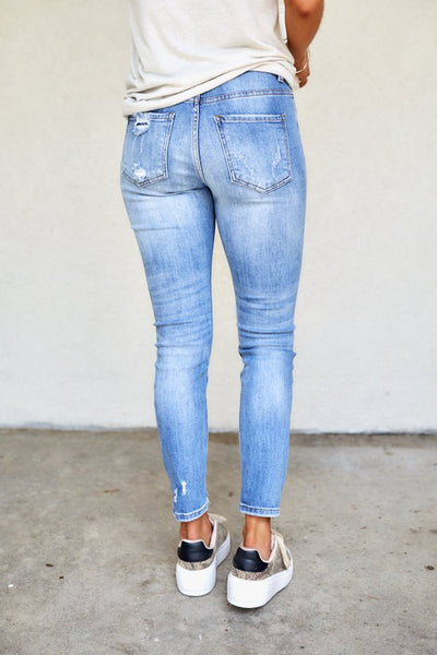 fab'rik - Kylie High Rise Girlfriend Jeans image thumbnail