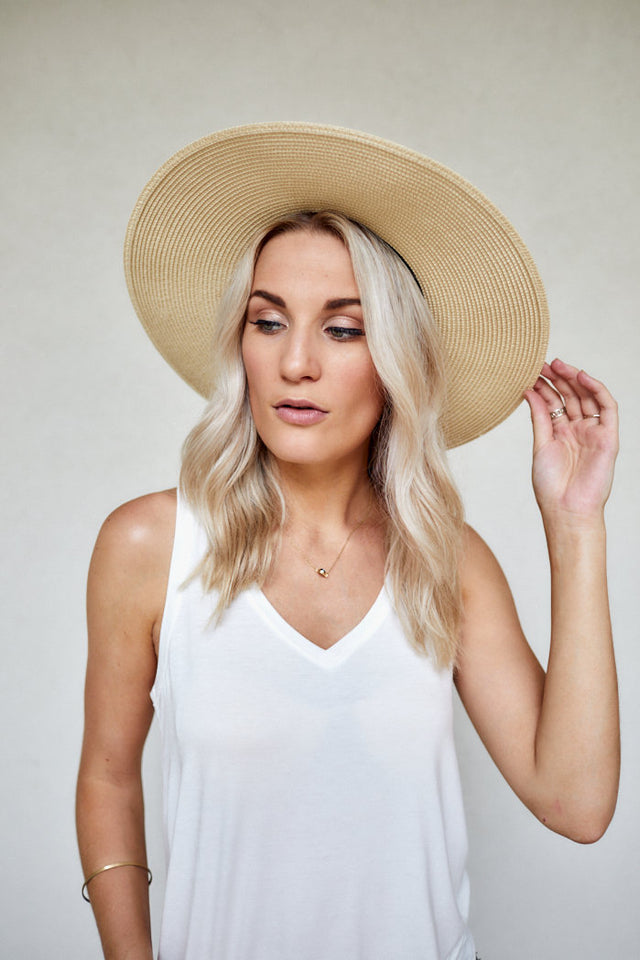 Braided Tassel Straw Sun Hat