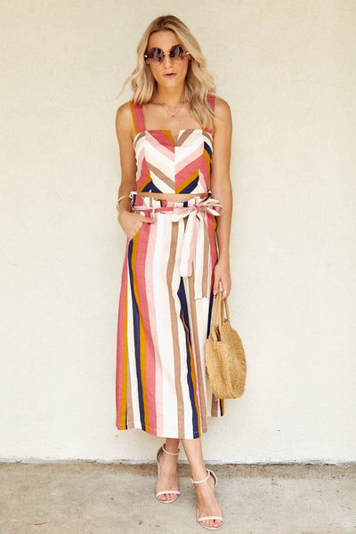 fab'rik - Elma Striped Paper Bag Pants image thumbnail