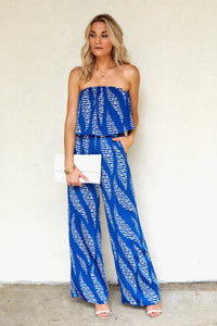 PreOrder Despina Printed Jumpsuit
