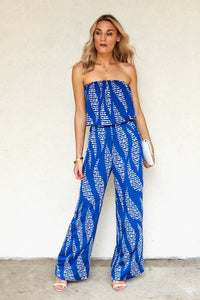 Despina Printed Jumpsuit