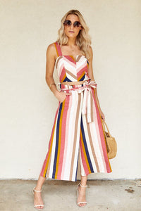 fab'rik - Elma Striped Paper Bag Pants ProductImage-8183381164090