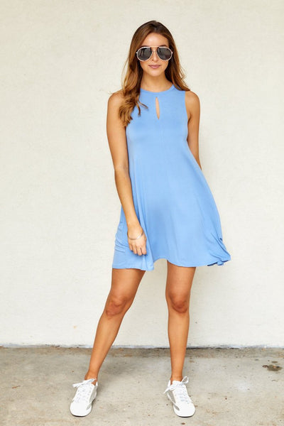 fab'rik - Ray Sleeveless Swing Dress image thumbnail