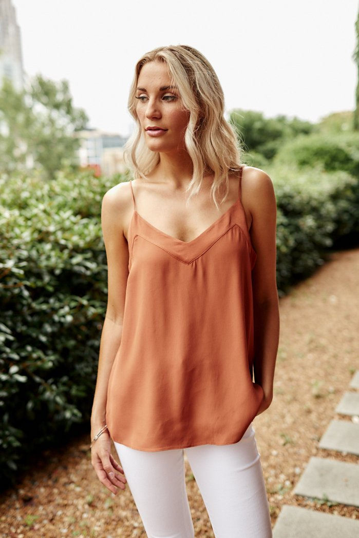 fab'rik - Sellah V Neck Cami ProductImage-8213125267514