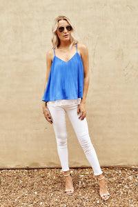 Culver Pleated Tank