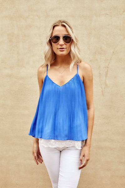 fab'rik - Culver Pleated Tank image thumbnail