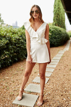 Load image into Gallery viewer, Willow Ruffle Trim Romper