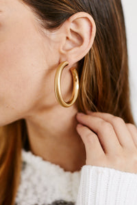 fab'rik - Whitney Gold Hoops ProductImage-13292175294522