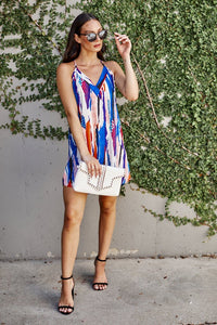 Kaylee Abstract Mini Dress