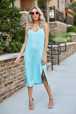 Novah Midi Slip Dress