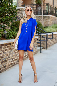PreOrder Alyse One Shoulder Mini Dress