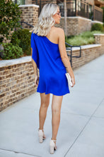 Load image into Gallery viewer, Alyse One Shoulder Mini Dress