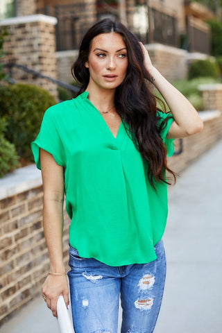 Gabriella V-Neck Blouse
