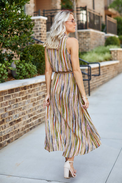 fab'rik - Aria Printed Maxi Dress image thumbnail