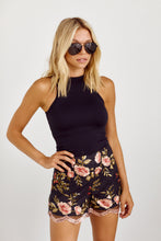 Load image into Gallery viewer, SALE - Jemma Embroidered Detail Floral Shorts