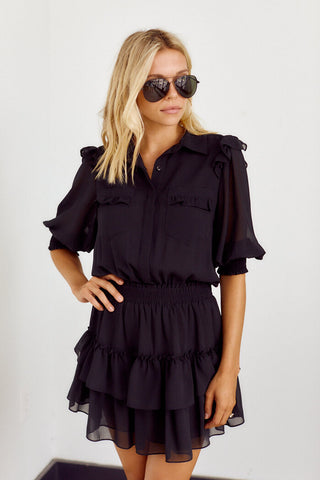 Preorder Lottie Pocket Detail Smocked Waist Dress