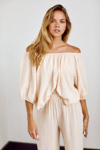 PreOrder Ahna Off Shoulder Top