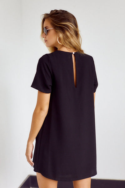 fab'rik - Esme Short Sleeve Shift Dress image thumbnail