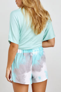 Maribel Tie Dye Drawstring Short