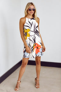 Thea Print Shift Dress