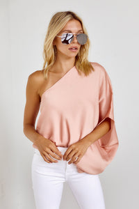 Atlas One Shoulder Top