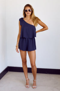 PreOrder Rhodes One Shoulder Romper