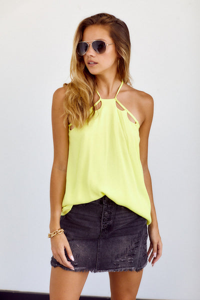 fab'rik - Linnie Cutout Detail Sleeveless Top image thumbnail