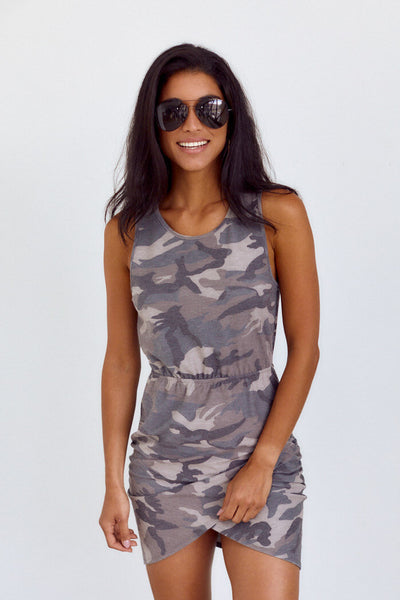 fab'rik - Chattie Camo Dress image thumbnail