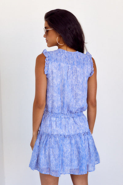 fab'rik - Journie Ruffle Detail Smocked Waist Dress image thumbnail