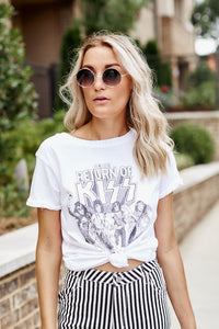 Kiss Graphic Tee