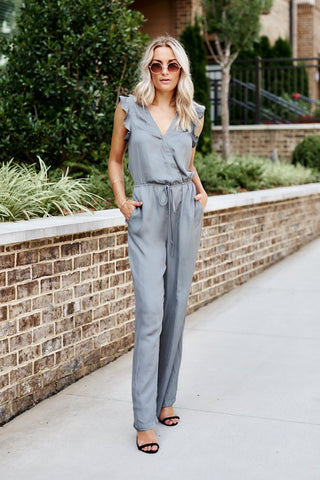 PreOrder Angie Satin Jumpsuit