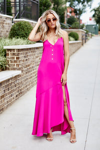 Naia Solid Maxi Dress