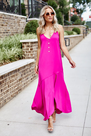 PreOrder Naia Solid Maxi Dress