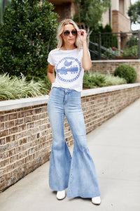 Hailey Super Flared Denim