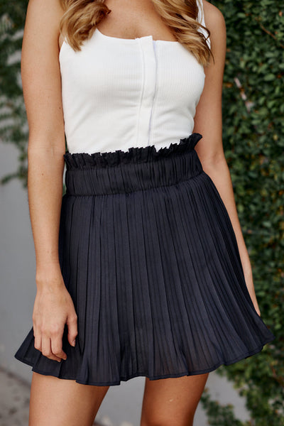 fab'rik - Cora Pleated Mini Skirt image thumbnail