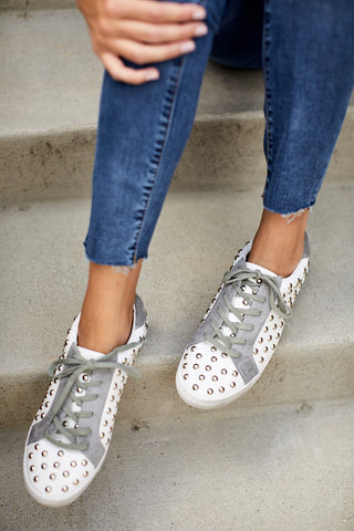 Quasar Studded Sneakers