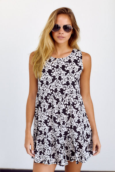 fab'rik - PreOrder Sammy Printed Swing Dress image thumbnail