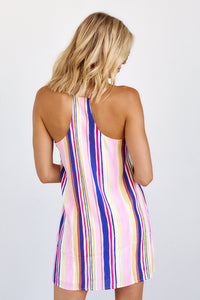 Iona Stripe Racerback Dress