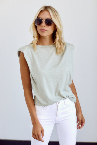 Brookes Shoulder Pad Tee