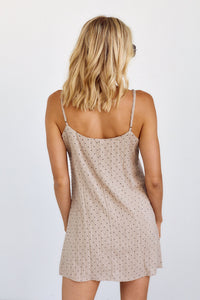 Misha Polka Dot Slip Dress