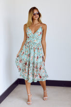 Load image into Gallery viewer, SALE - Tennie Floral Print Ruffle Detail Midi Dress