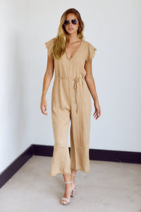 Rio Fringe Hem Loose Fit Jumpsuit