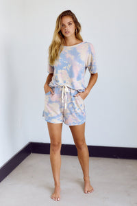 SALE - Chloe Tie Dye Lounge Short