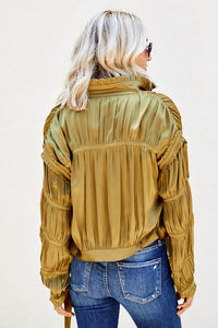 Bray Satin Jacket